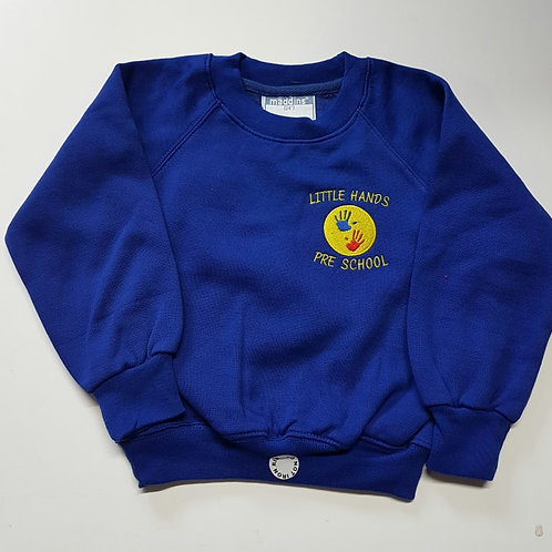 little hands pre school,sweatshirt