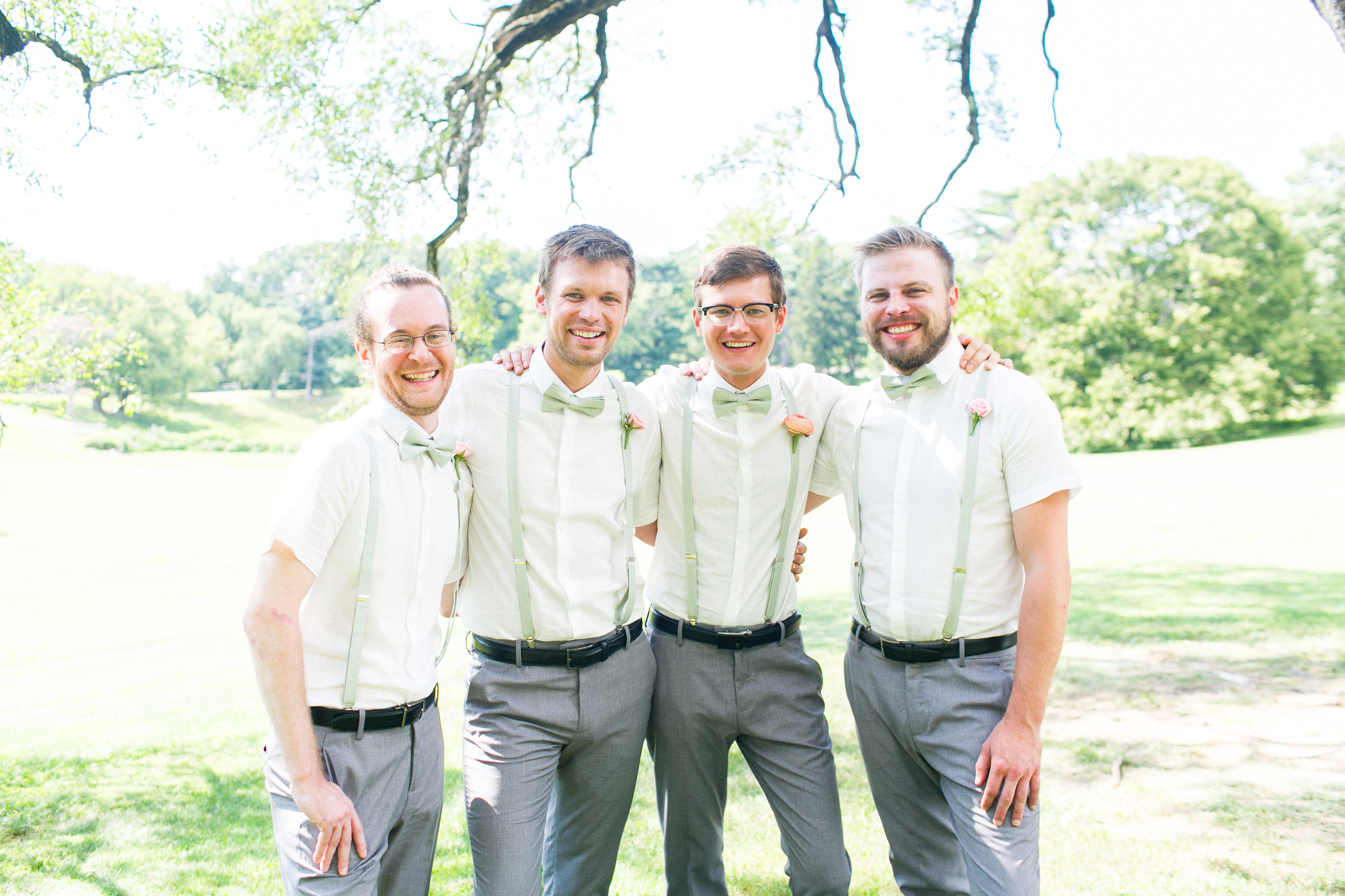 Groom and Groomsmen barber Belleza