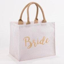 BRIDE SHIMMER GIFT TOTE