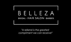 Belleza Salon business card