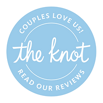 A badge to click on to read The Knot reviews on Belleza Salon