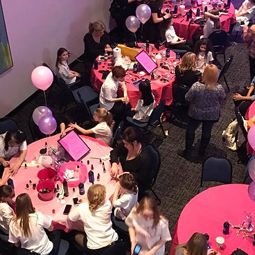 Beleza Salon at Dazzling Divas event benefitting Children's Miacle Network