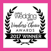 St. Louis Perfect Wedding Guide Vendor Choice award winner badge