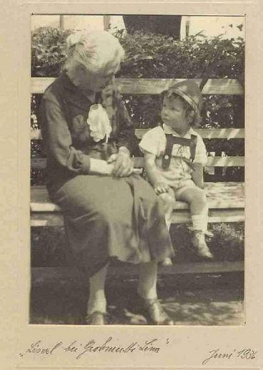Liselotte Kastner und Karoline Adler, 1936 © Liselotte Kastner