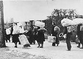 Sudetendeutsche Flüchtlinge © Bundesarchiv Berlin, Bild Nr. 146-1985-21-09