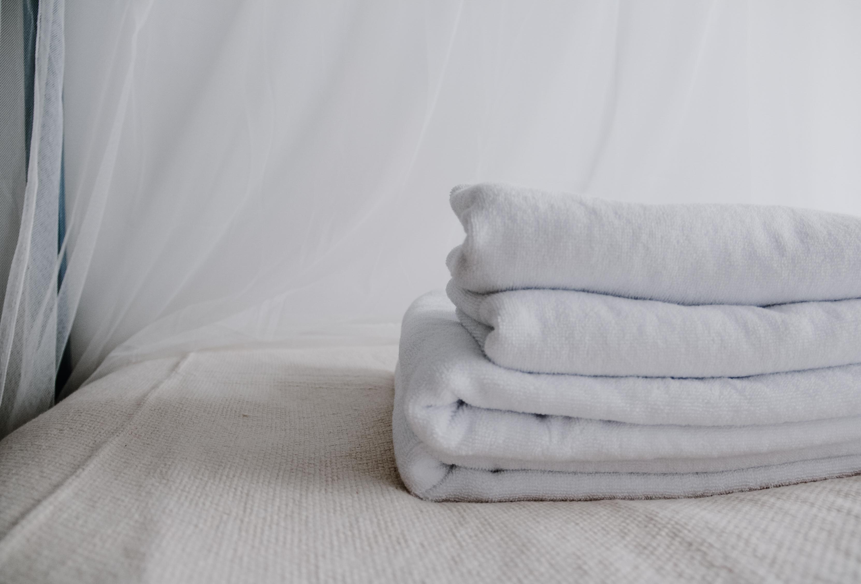 У нас можно арендовать мягкие белые полотенца