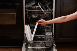 Ещё у нас есть посудомойка