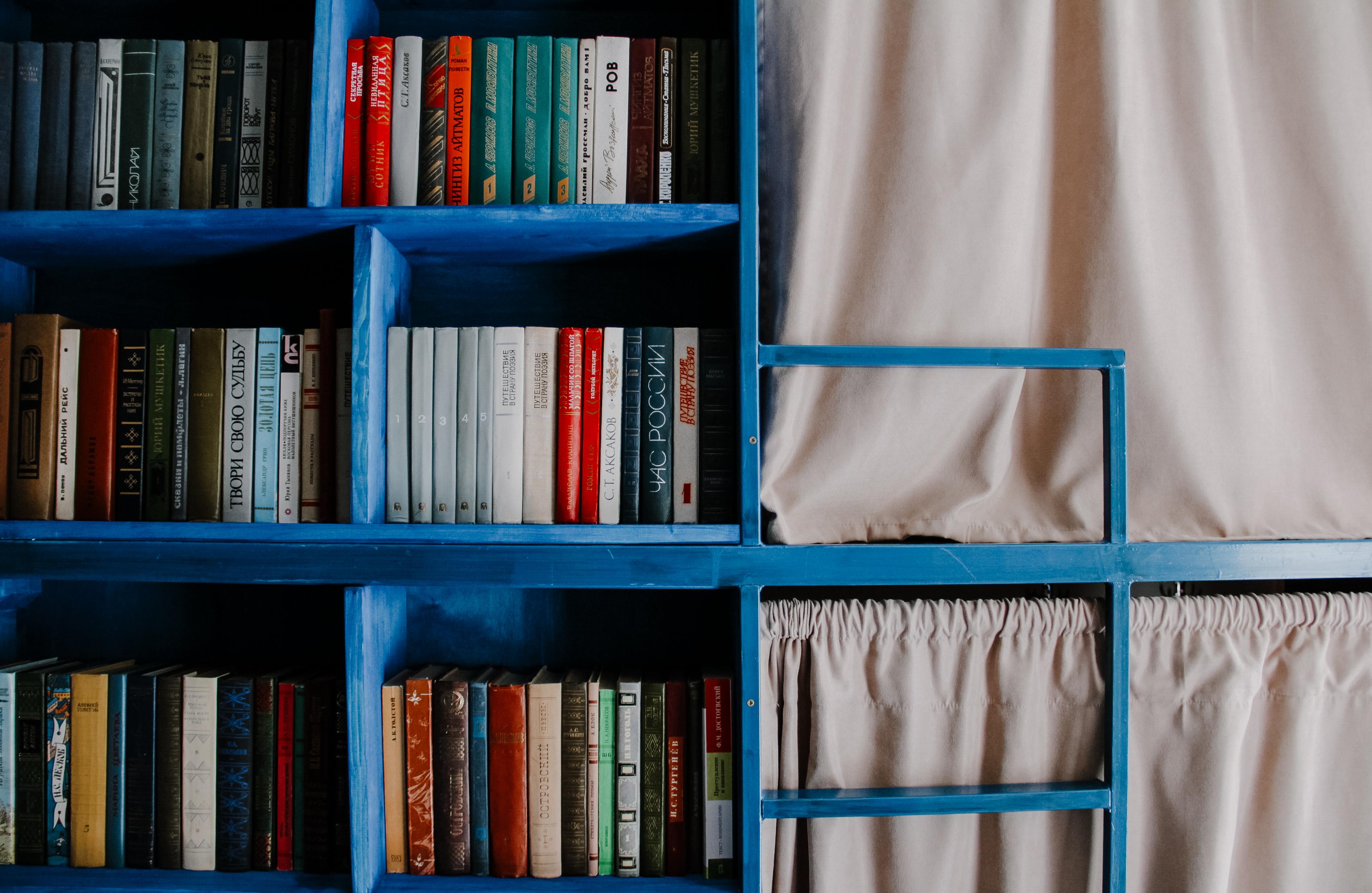 8-местная общая спальня в BookCase Hostel