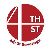 4th St Beverage Inc Logo red NO INC-01.j