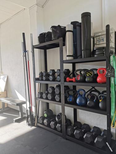 Petit matériel pour des entraînements à plusieurs