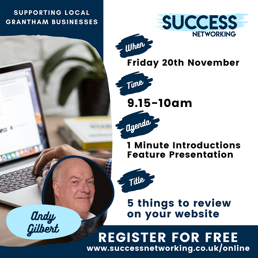 Success Networking Online Event