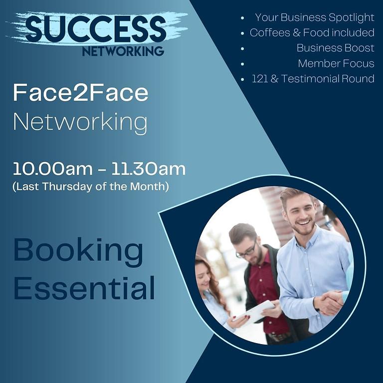 Success Networking F2F (28/10)