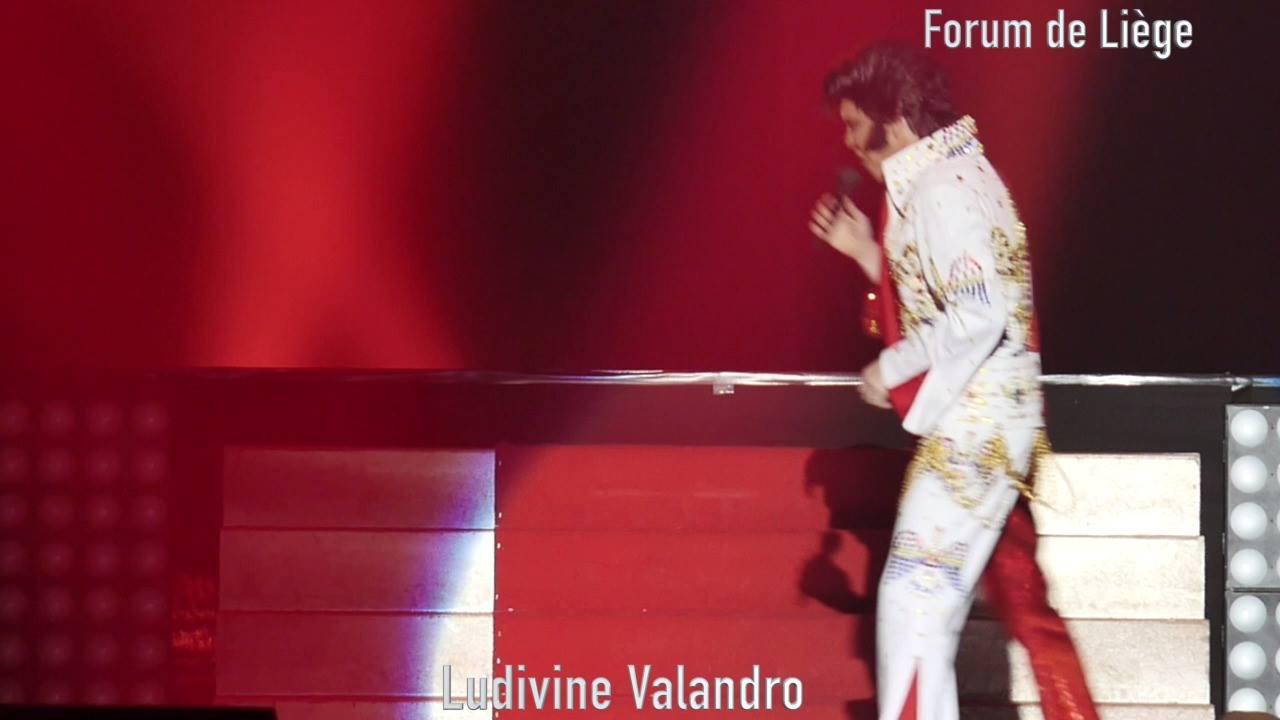 """Double face """"Liza Minnelli et Elvis Presley""""au Forum de Liège"""