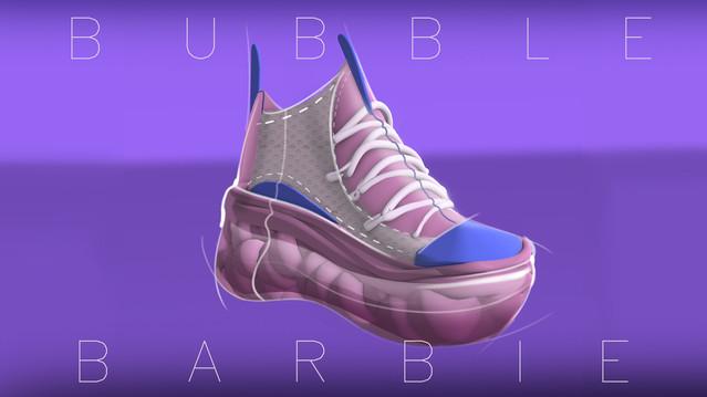 bubble barbie