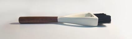 Hand Broom Side View