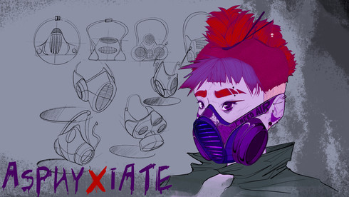 Asphyxiate Mask Designs