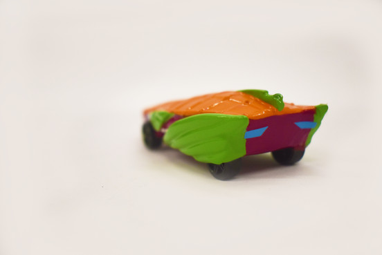 Hot Wheel Back View