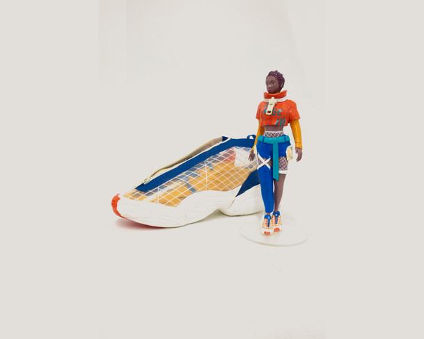 Figurine and Shoe Model