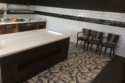 Restaurant Tiling on floor and walls