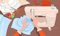 graphic of a sewing machine being used to stitch cloth.jpg