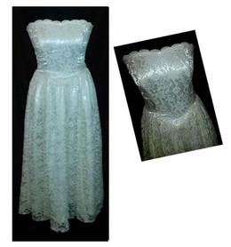 ivory vintage wedding dress