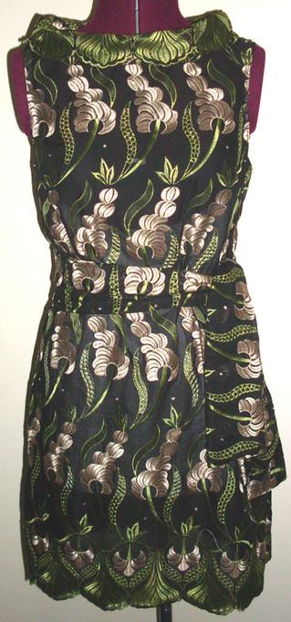 floral patterened dress