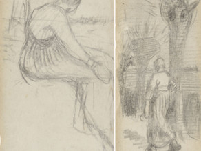 Ilustrações de Van Gogh são encontradas após 135 anos
