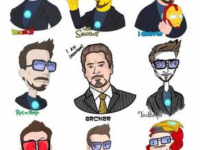 Ilustrador recria celebridades em estilos de desenho diferentes