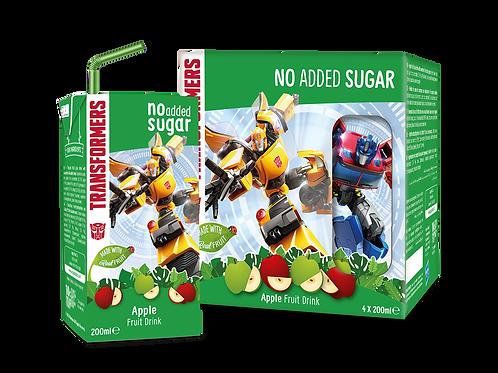 Appy Kids Co  Transformers Apple No Added Sugar Fruit Drink 200ml
