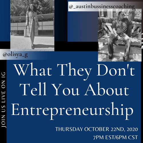 What they don't tell you about entrepreneurship