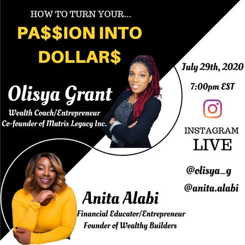Passion into Dollars