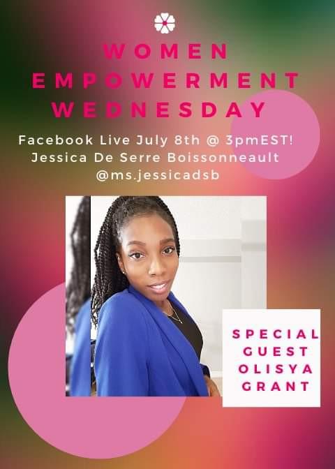 Women Empowerment Wednesday Guest Host