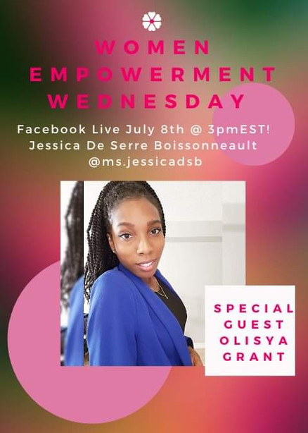 Women Empowerment Wednesday Guest Host
