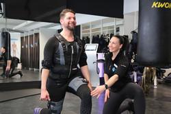 Muskelstärkung mit EMS