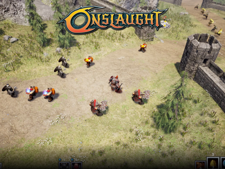 Onslaught Prototype is making great progress!