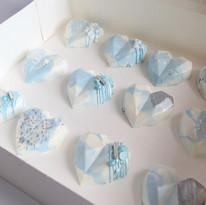 Blue Marble Cake Hears