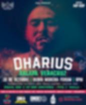 el rapero Dharius se presentara en xalapa