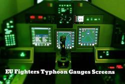 Typhoon Simulator cockpit