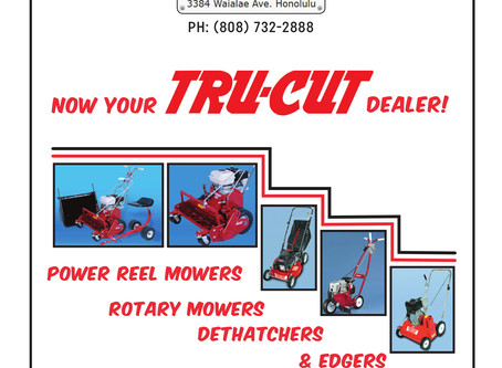 Now stocking TRU-CUT tools