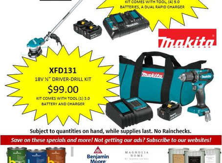 Makita's end of Summer sale is here!