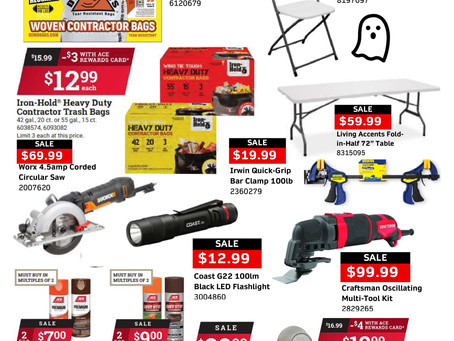 OCTOBER SAVINGS ARE HERE