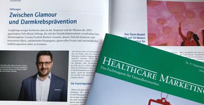 Interview in der Healthcare Marketing