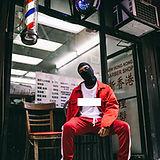 Gang Member in Red Suit