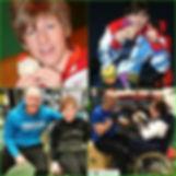 Zoe Robinson Gold medal Paralympian with Matt Nuttall