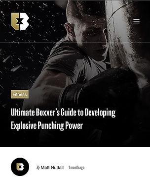boxing, matt nuttall