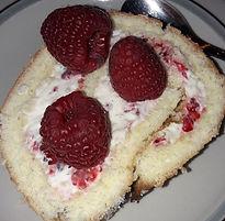Samppanjabrie Vadelma torttu