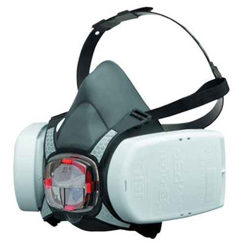 JSP Force 8 Half Mask Respirator with Press to Check P3 Construction Dust Filter