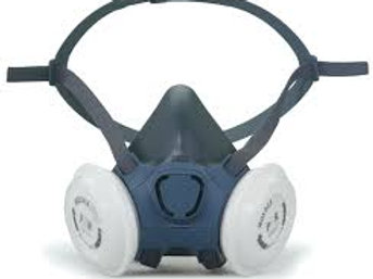 MOLDEX 7000 HALF FACE MASK RESPIRATOR WITH P3 FILTERS IN MEDIUM SIZE