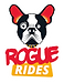 Rogue Rides Logo for cutting edget dark ride trackless vehicles