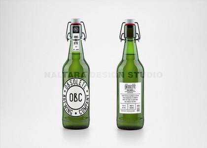 OBC Beer Bottle Green MockUp Watermark.j
